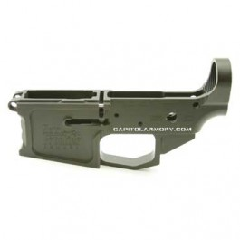 NFA C-4 Billet Stripped AR-15 SBR Lower Receiver
