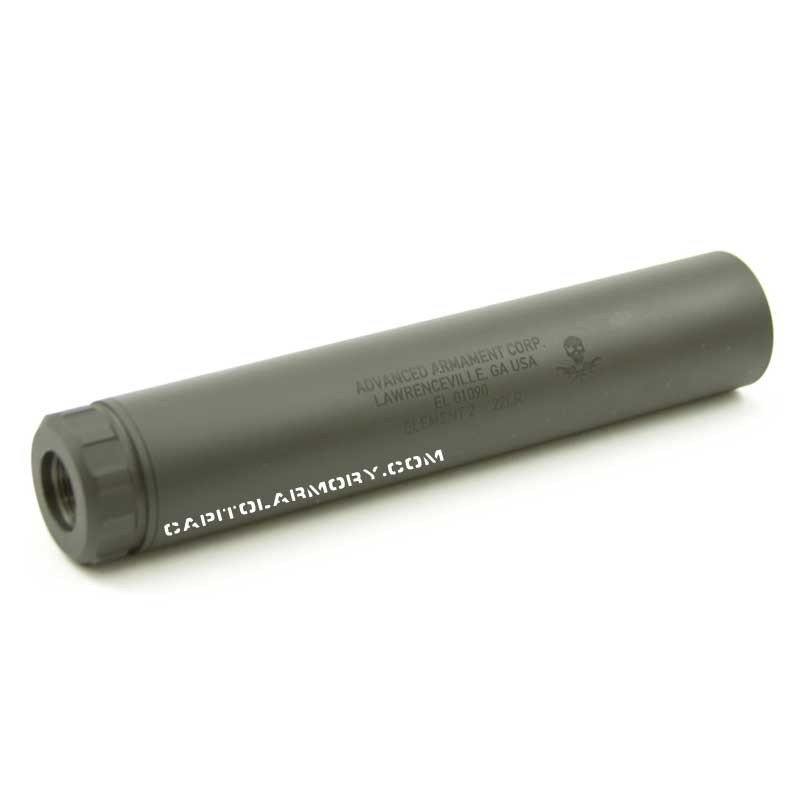 AAC Element 2 | Rimfire Suppressor | 22lr Silencer - Capitol Armory
