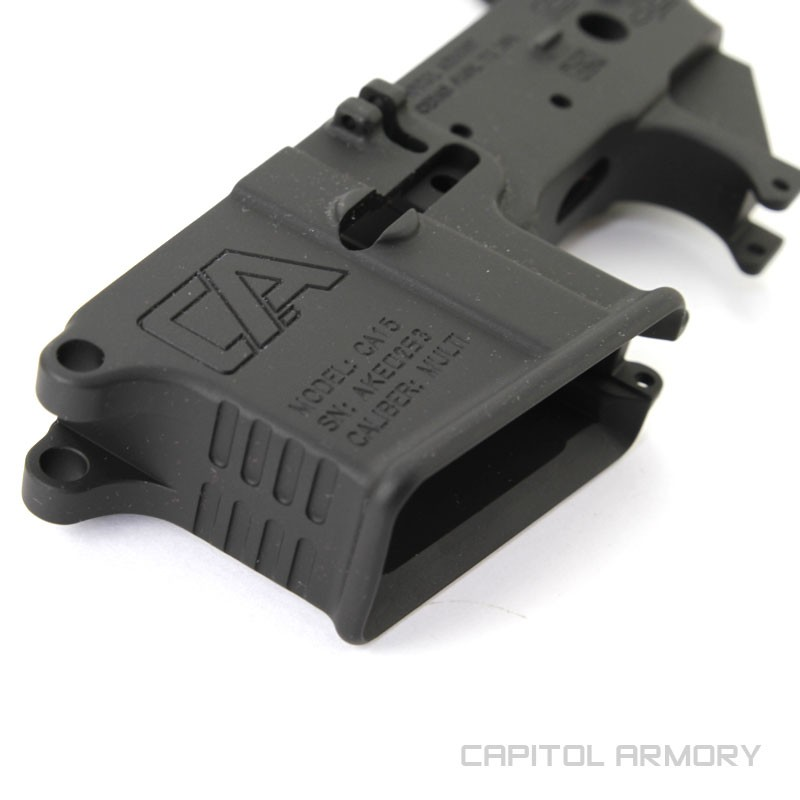 Capitol Armory AR-15 Forged Lower Receiver | Lower Receivers
