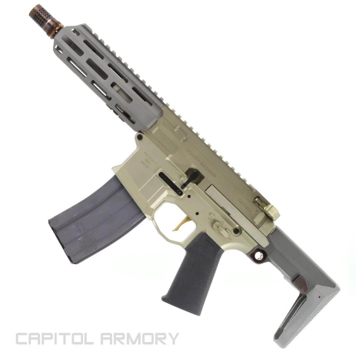Honey Badger by Q™ - 300 BLK SBR - Capitol Armory