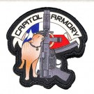 Capitol Armory Patch - Chairman Meow