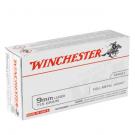 Winchester 9mm Luger 115gr FMJ
